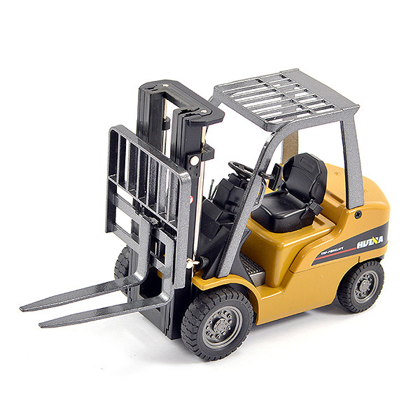 Huina 1/50 Diecast Fork Lift Truck Static Model Construction Vehicle