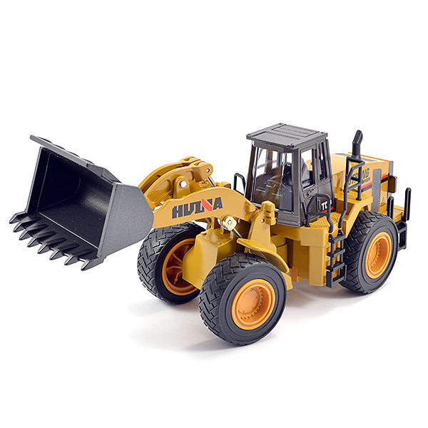 Huina 1/40 Diecast Wheel Loader Static Model Construction Vehicle