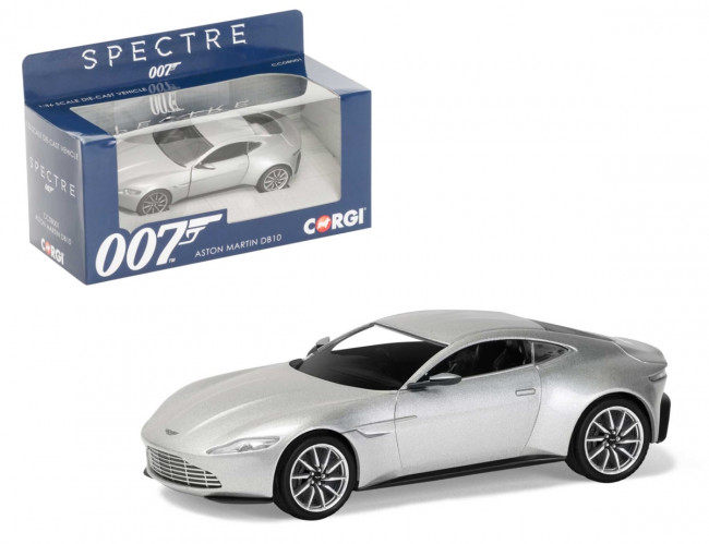 Corgi James Bond 'Spectre' Aston Martin DB10 1:36 Scale Diecast Replica CC08001