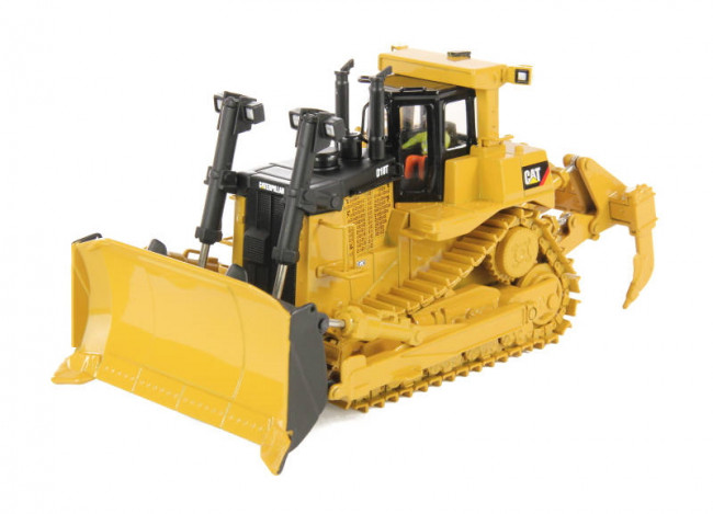 1:50 Cat D10T Track-Type Tractor, Diecast Scale Construction Vehicle