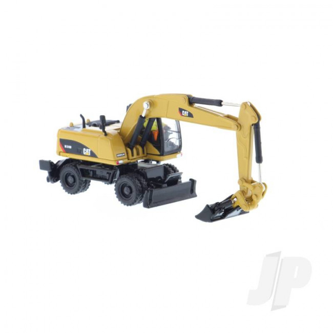 1:87 Cat M318D Wheel Excavator, Diecast Scale Construction Vehicle