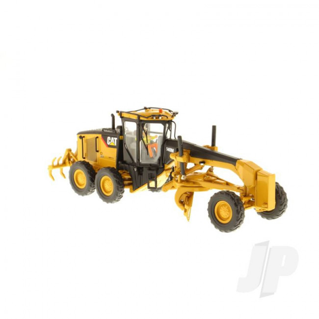 1:50 Cat 140M Motor Grader, Diecast Scale Construction Vehicle