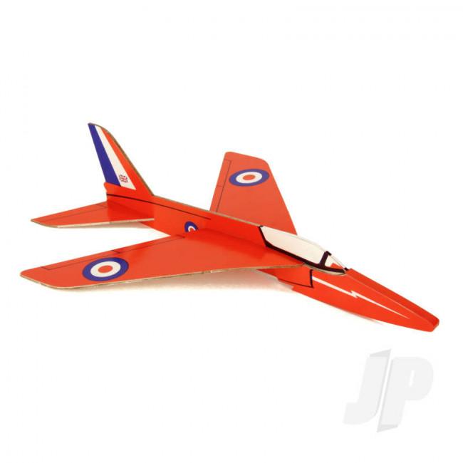 DPR Gnat Glider Freeflight Balsa Model Aircraft Kit