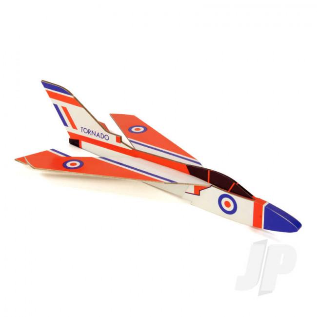 DPR Tornado Glider Freeflight Balsa Model Aircraft Kit