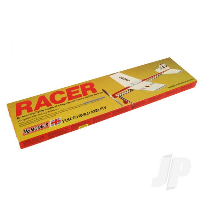 DPR Racer Rubber Powered Freeflight Balsa Model Aircraft Kit