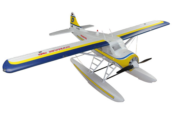Dynam DHC-2 Beaver SRTF with 6 Axis Gyro 1500mm Wingspan - Includes Optional Floats!