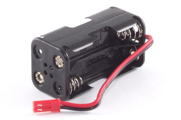 4 AA Receiver Battery Case Box with BEC Plug for Radio Control Models