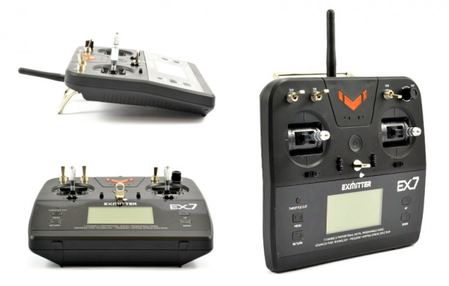 Volantex Exmitter 7 Channel 2.4 GHz Computer Radio System - Bargain!