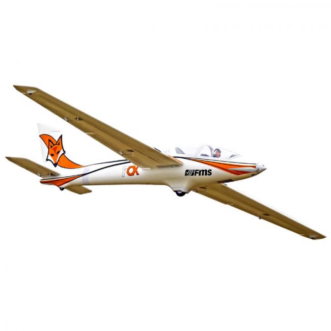 FMS 3000MM FOX GLIDER ARTF w/o TX/RX/BATT RC MODEL AEROPLANE