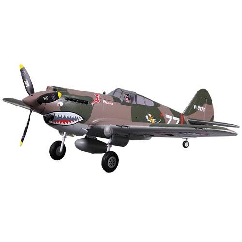 P-40B Flying Tiger Warhawk Retracts 100mph+ High Speed no Tx/Rx/Bat