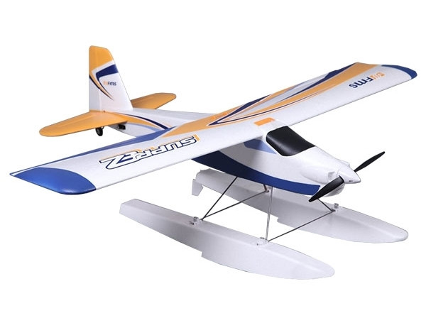 FMS Super EZ Trainer V2 with Floats 1220mm RTF - Ideal for Beginners!
