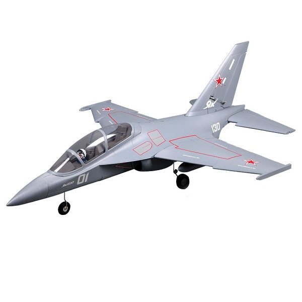 FMS YAK 130 Jet 70mm Electric Ducted Fan, Retracts ARTF no Tx/Rx/Bat - Grey