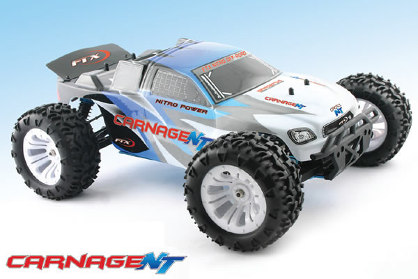 FTX Carnage NT 1/10th Scale RTR 4WD Nitro Truck - Superb Value!!