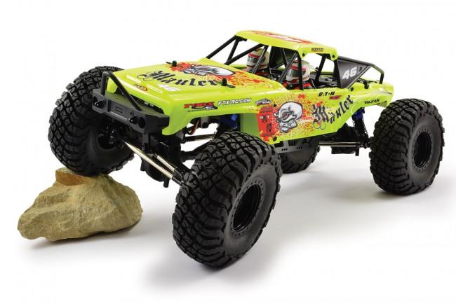 FTX Mauler 4x4 Rock Crawler 1:10 Scale Ready To Run - Yellow/Orange