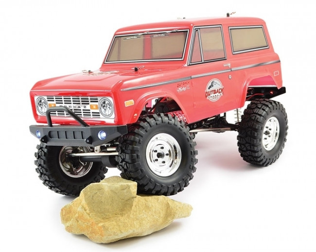 Outback 2 Treka 4X4 Trail RTR 1:10th RC Truck Ford Bronco Style Body and Lights