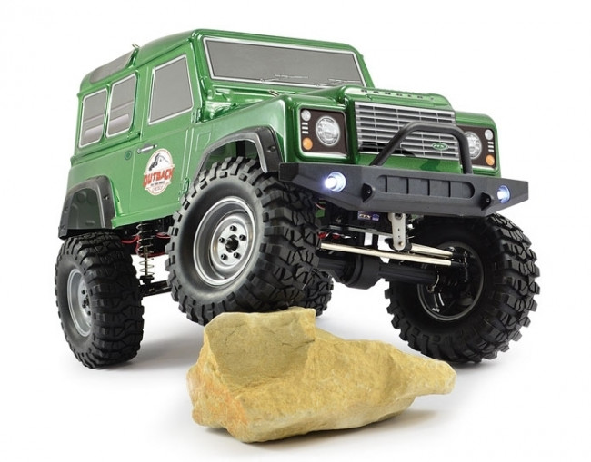 Outback 2 Ranger 4X4 Trail RTR 1:10 RC Truck with Land Rover Style Body & Lights