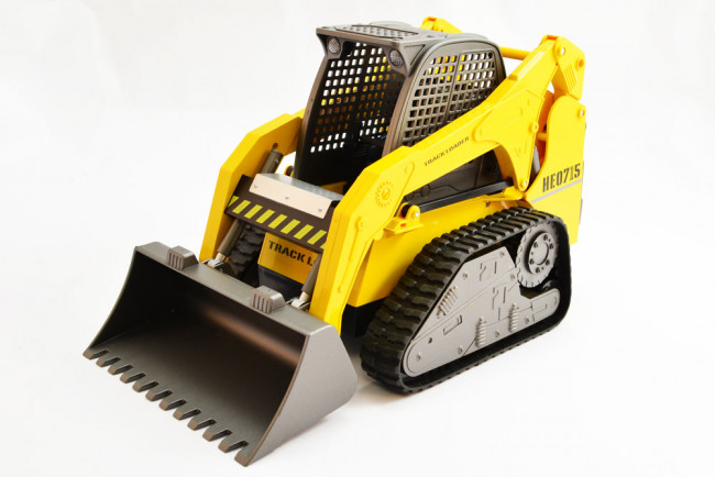 Hobby Engine 1:10 Scale RC Track Loader, Upgraded Premium Label Version 2.4GHz