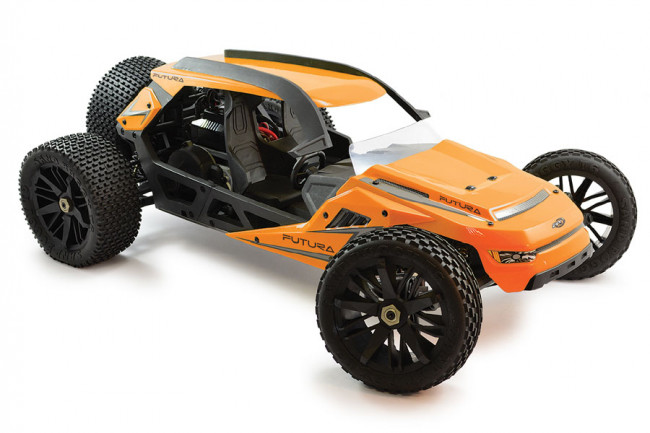 Huge 1:6 Scale FTX Futura Brushless 2WD Concept Dune Buggy with Gyro