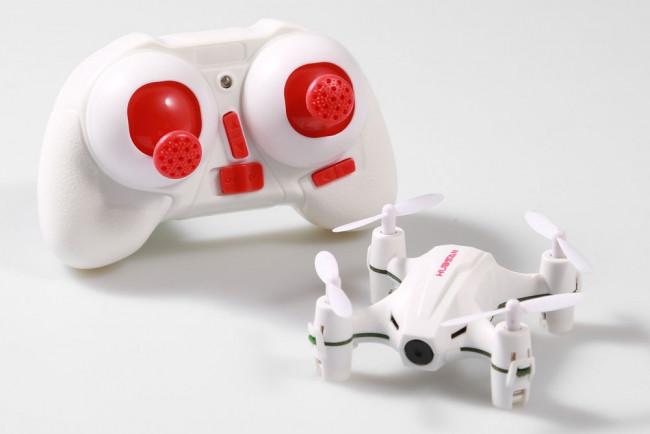Hubsan Nano Q4 Quadcopter with 720P HD Camera, Gyro and LED Lights
