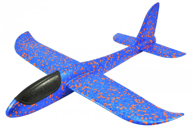 Mini Fox 480mm Free Flight EPP Hand Launch Foam Chuck Glider - Blue