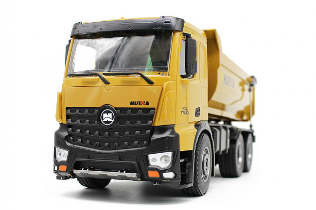 Huina RC Dumptruck Tipper Lorry Truck - 10 Function RTR Construction Vehicle!