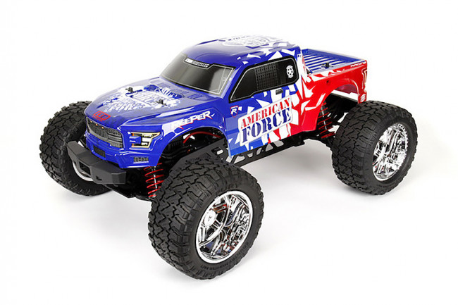 CEN Racing 1/7 Reeper American Force ARTR (no Batt) - MASSIVE BEAST!