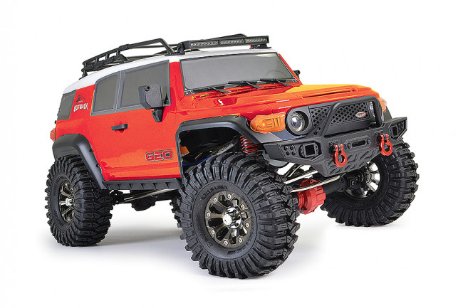 FTX 1/10 Outback Geo Land Cruiser RTR RC Trail Crawler Truck - Red