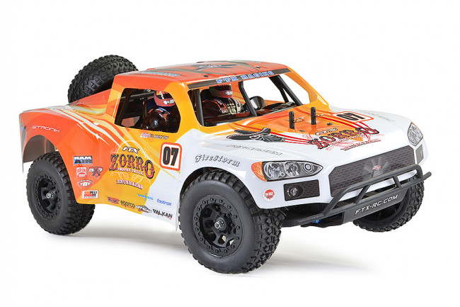 FTX Zorro EP 1/10 RC Brushless Electric 4WD RTR Trophy Truck - Orange