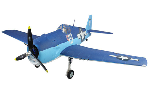 Dynam F6F Hellcat with Retracts 1220mm ARTF no Tx/Rx/Bat - Special Offer!