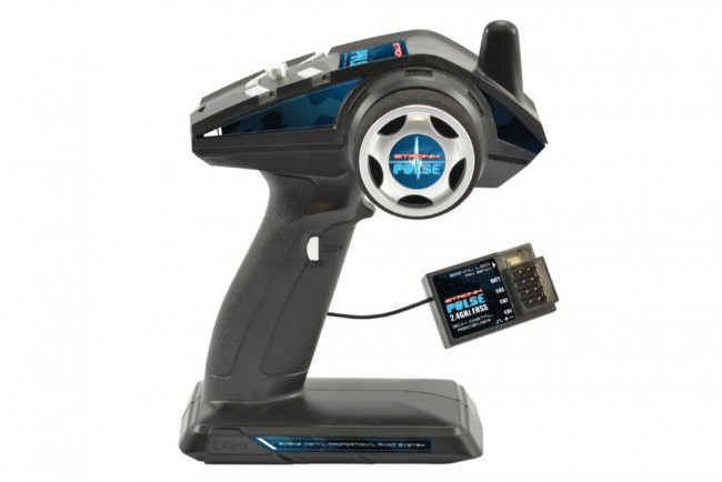 Etronix Pulse EX3G 3 Channel 2.4GHz FHSS Steering Wheel Radio System