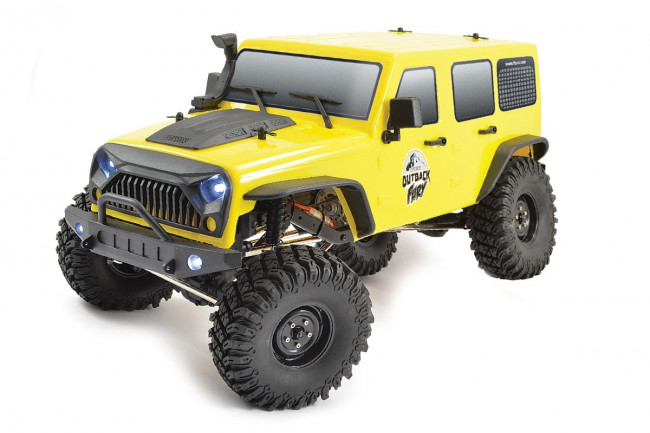 FTX Outback Fury 4X4 RTR 1:10 RC Trail Crawler with Lights