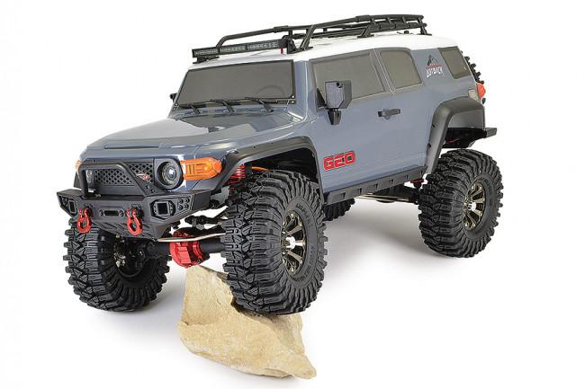 FTX 1/10 Outback Geo Land Cruiser RTR RC Trail Crawler Truck - Grey
