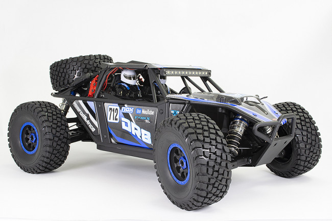 FTX DR8 1/8 SCALE DESERT RACER 4 TO 6S LIPO READY TO RUN - BLUE