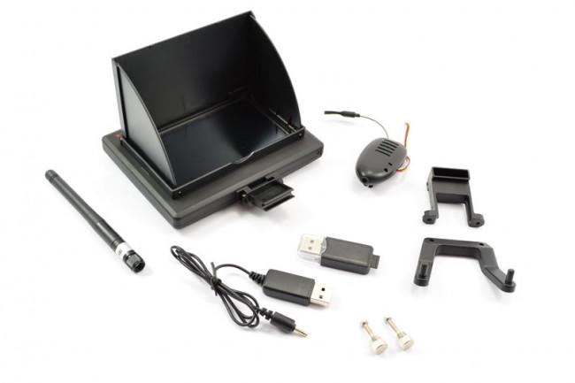 XK Innovations X250 Drone 5.8Ghz FPV Monitor Screen & HD Camera Upgrade Set