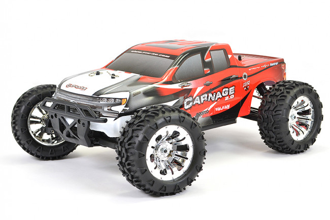 FTX CARNAGE 2.0 1:10 BRUSHED RC TRUCK 4WD RTR – RED