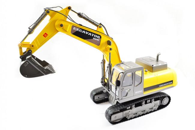 Large Scale RC Caterpillar Excavator, Upgraded Premium Label Version - Hobby Engine