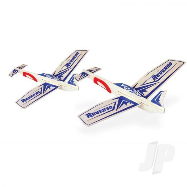 Guillow Reverso Twin Pack Balsa Model Aircraft Kit