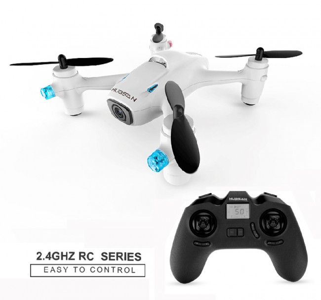 Hubsan X4C+ Quadcopter RTF 720P HD Camera, Altitude Hold, Lights