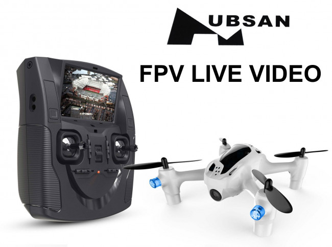 Hubsan X4 Plus H107D+ FPV Drone HD Camera, Headless, Lights - Huge Discount
