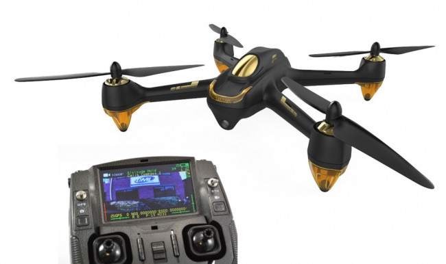 Hubsan 501S X4 FPV Quadcopter Drone Black GPS RTH, Follow Me, Headless, 1080P Camera
