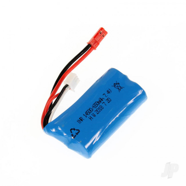 Haiboxing 18031 LiIon Battery Pack (7.4V 650mAh) (Hailstorm, Blaster, Gallop)