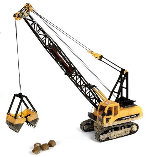 Large Scale RC Crawler Crane Upgraded Premium Label Version - Hobby Engine