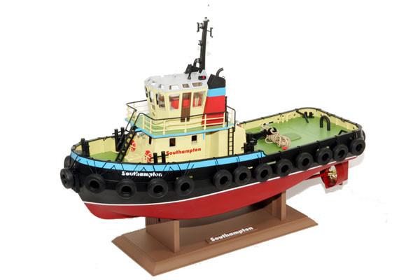 Southampton Tug Boat with Smoke, Working Lights, Horn 2.4GHz Radio - Hobby Engine