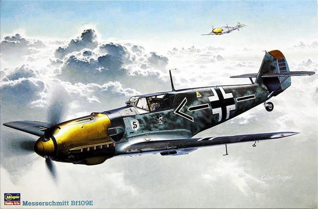 Messerschmitt Bf109E Large 1:32 Scale Hasegawa Plastic Kit ST1