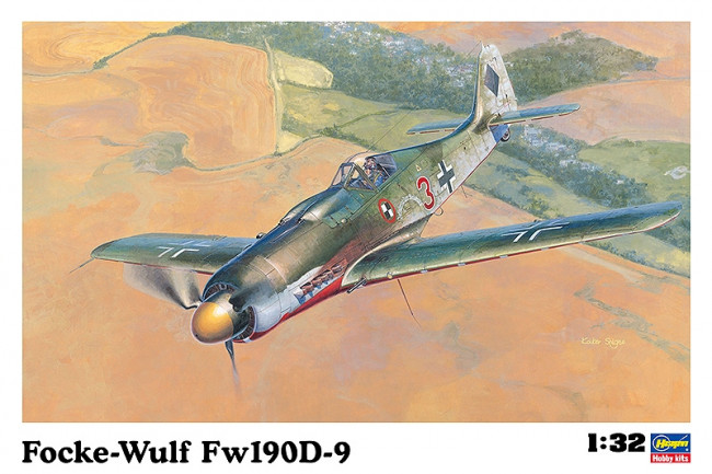 Hasegawa Focke Wulf Fw190D-9 Large 1:32 Scale Plastic Kit HST19