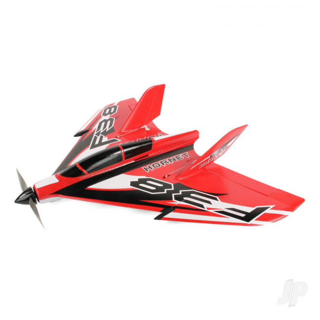 F-38 Delta Racer PNP Red (800mm) no Tx/Rx/Batt RC Model Aeroplane