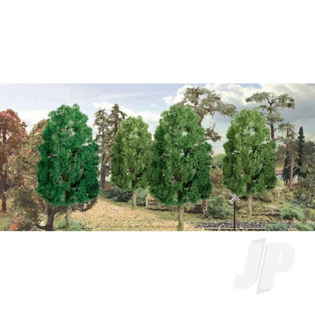 "JTT 94318 Sycamore, 3"", (3 pack) Trees For Scenic Diorama Model Trains"