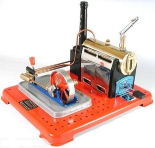 Mamod SP4 Stationary Live Steam Engine, Ready Built, Powerful and Compact - Great Fun