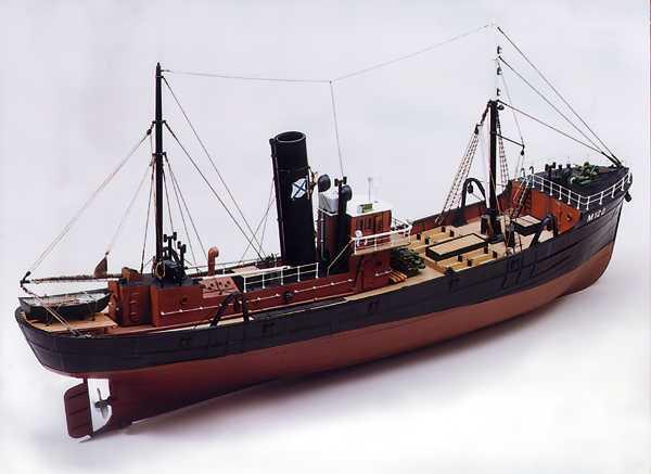 Milford Star Side Trawler 1:48 Scale Kit - Caldercraft Classic Series