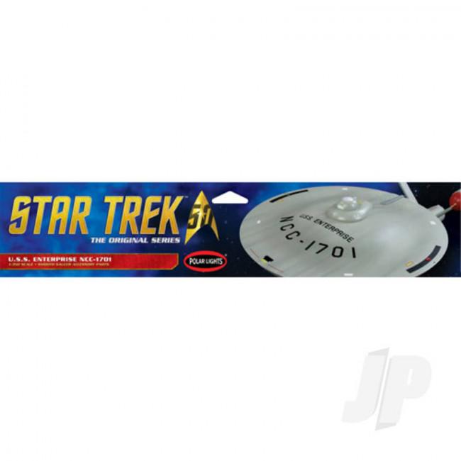 Polar Lights 1:35 Star Trek TOS U.S.S. Enterprise Smooth Saucer For Plastic Kits